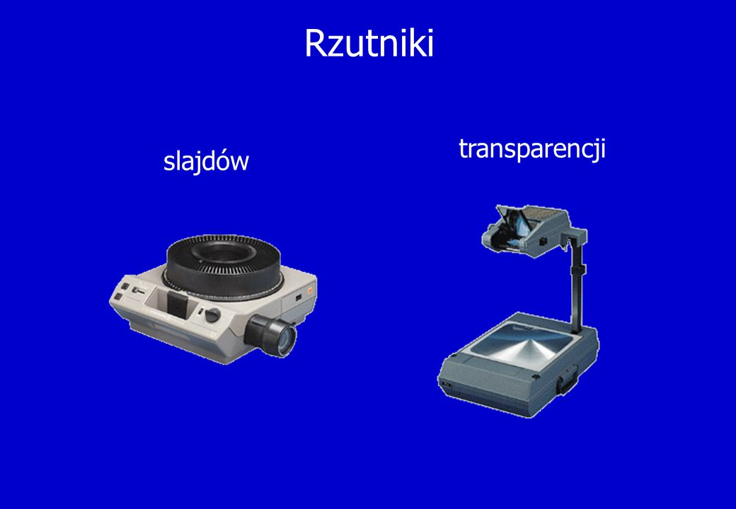 Rzutniki transparencji slajdów
