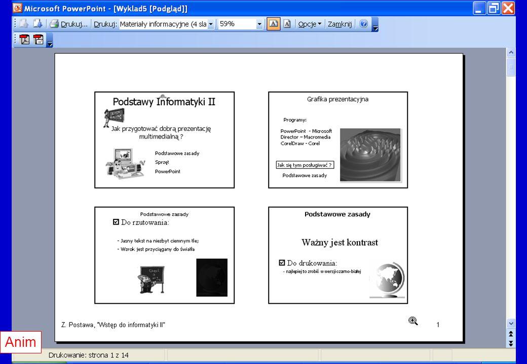 Materiały informacyjne cd. Anim
