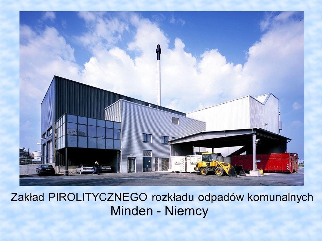 Zakład PIROLITYCZNEGO rozkładu odpadów komunalnych Minden - Niemcy