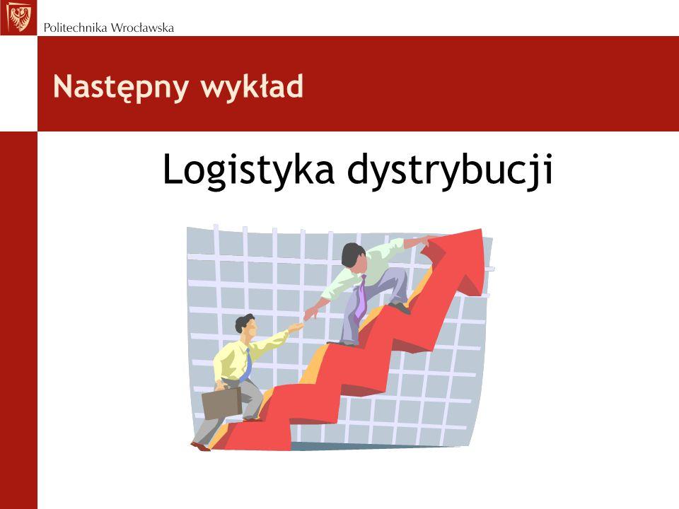 Następny wykład Logistyka dystrybucji