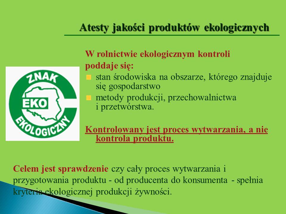 Jak odróżnić produkty ekologiczne od konwencjonalnych Kupując produkt ekologiczny należy zwracać szczególną uwagę na jego oznakowanie.