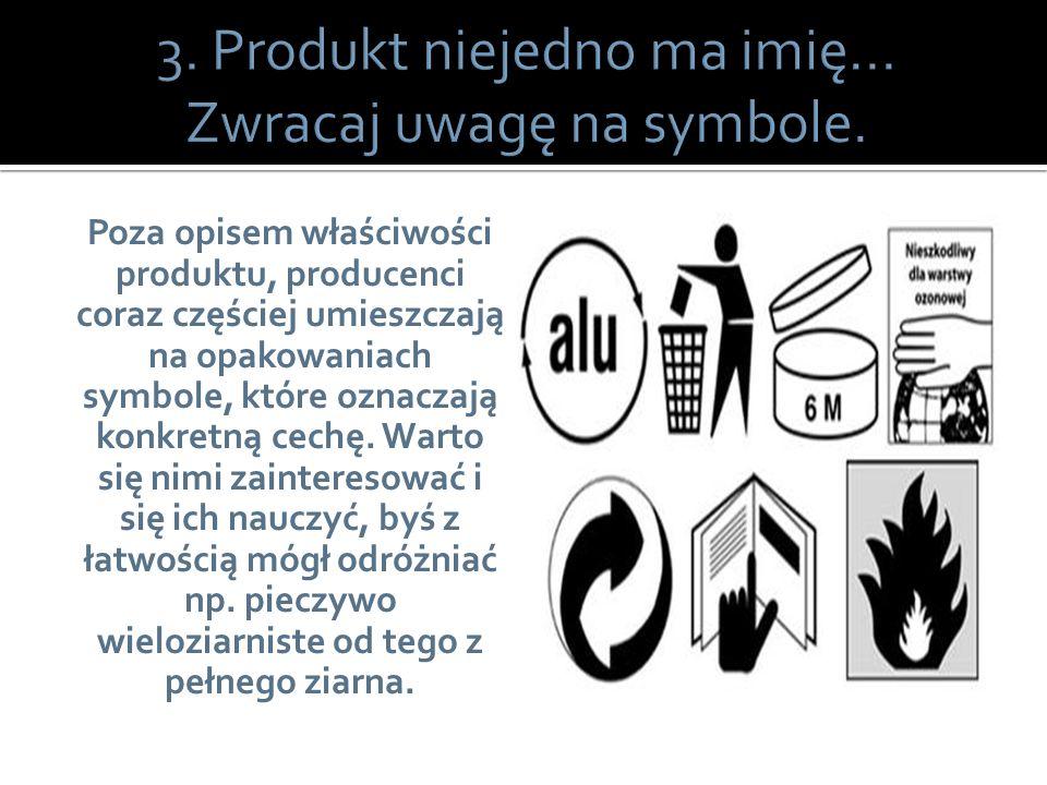 Poza opisem właściwości produktu, producenci coraz częściej umieszczają na opakowaniach symbole, które oznaczają konkretną cechę. Warto się nimi zaint