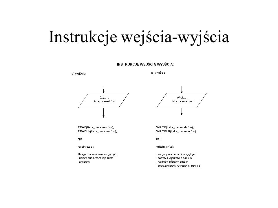 Instrukcja podstawienia (przypisania)