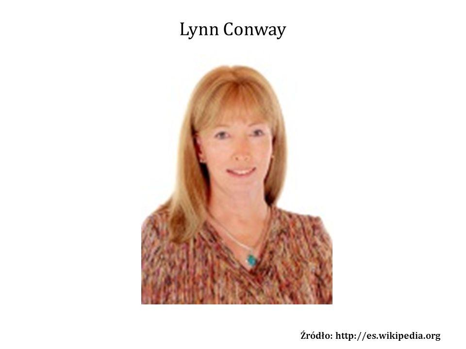 Lynn Conway Źródło: http://es.wikipedia.org