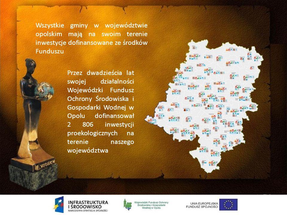 EDUKACJA EKOLOGICZNA i KOMUNIKACJA SPOŁECZNA Dofinansowano 537 zadań na łączną kwotę 8,3 mln zł