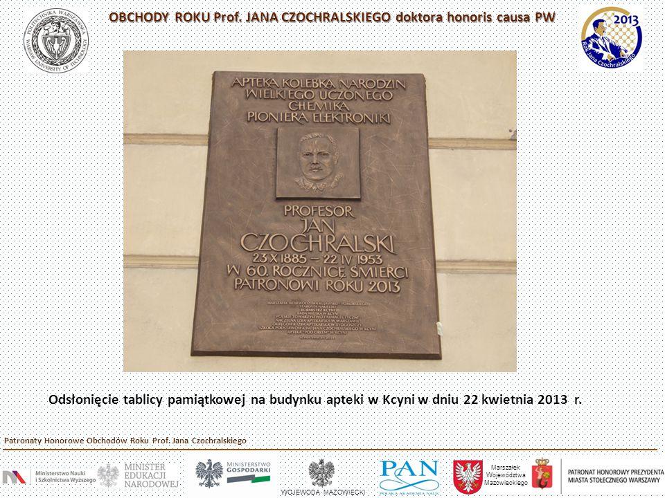 """PRZEDWOJENNE SPOTKANIA TOWARZYSKIE W DOMU PAŃSTWA CZOCHRALSKICH – """"CZWARTKI LITERACKIE , ul."""