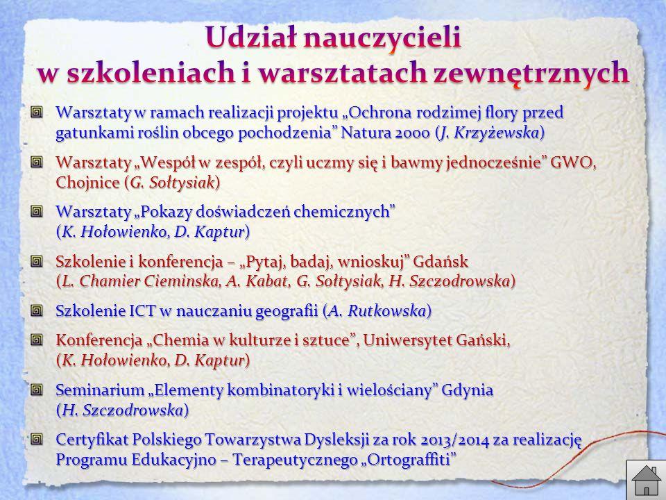 """Warsztaty w ramach realizacji projektu """"Ochrona rodzimej flory przed gatunkami roślin obcego pochodzenia Natura 2000 (J."""