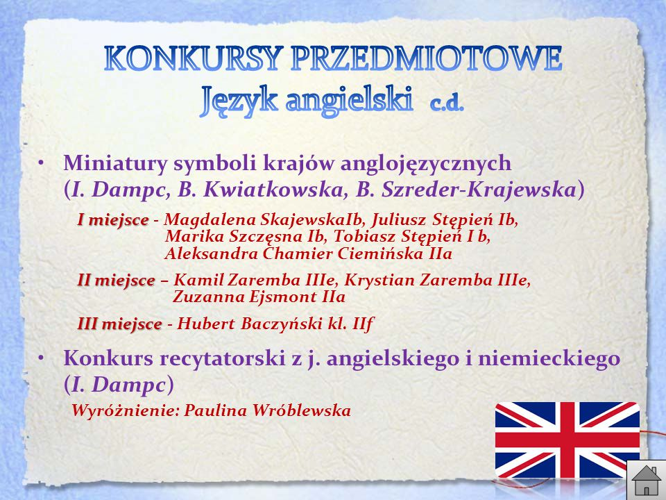 Miniatury symboli krajów anglojęzycznych (I.Dampc, B.