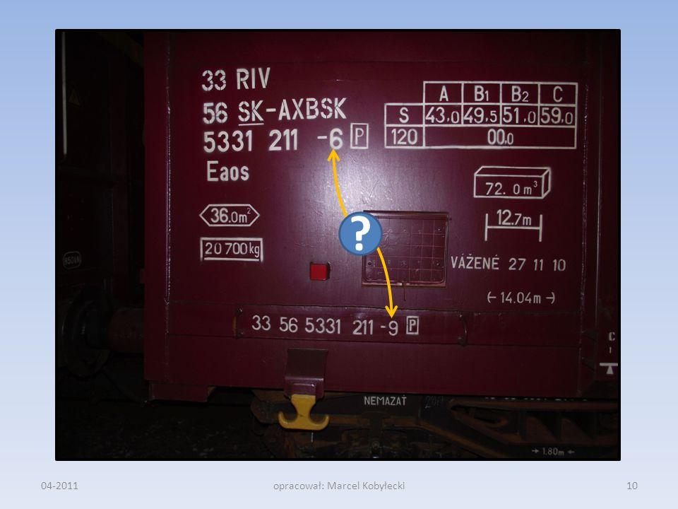04-201110opracował: Marcel Kobyłecki ?