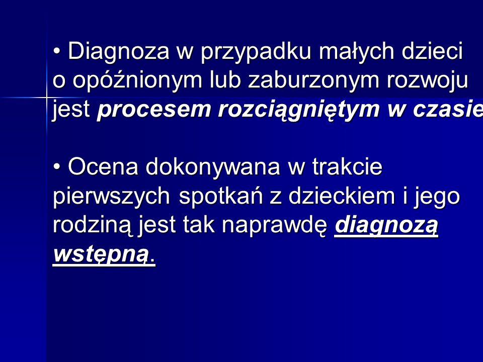 Diagnozę wstępną dokonujemy poprzez: 1.