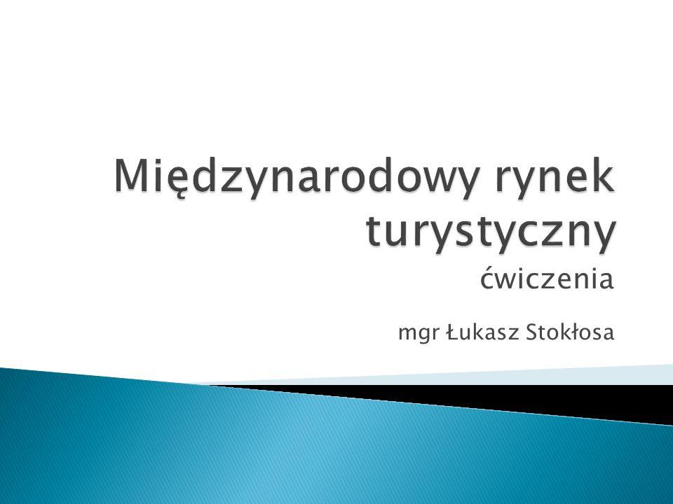 ćwiczenia mgr Łukasz Stokłosa