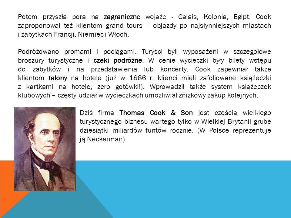 Lata 1945 – 1955 to rozwój biur turystycznych i biur podróży, Lata 50-te XX w.