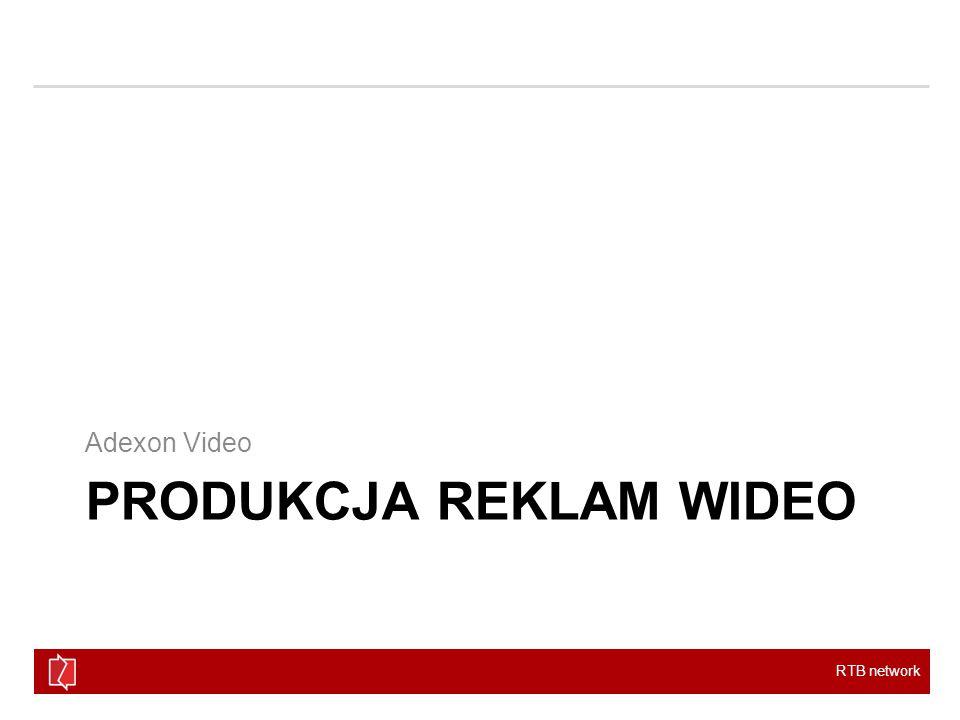 RTB network PRODUKCJA REKLAM WIDEO Adexon Video