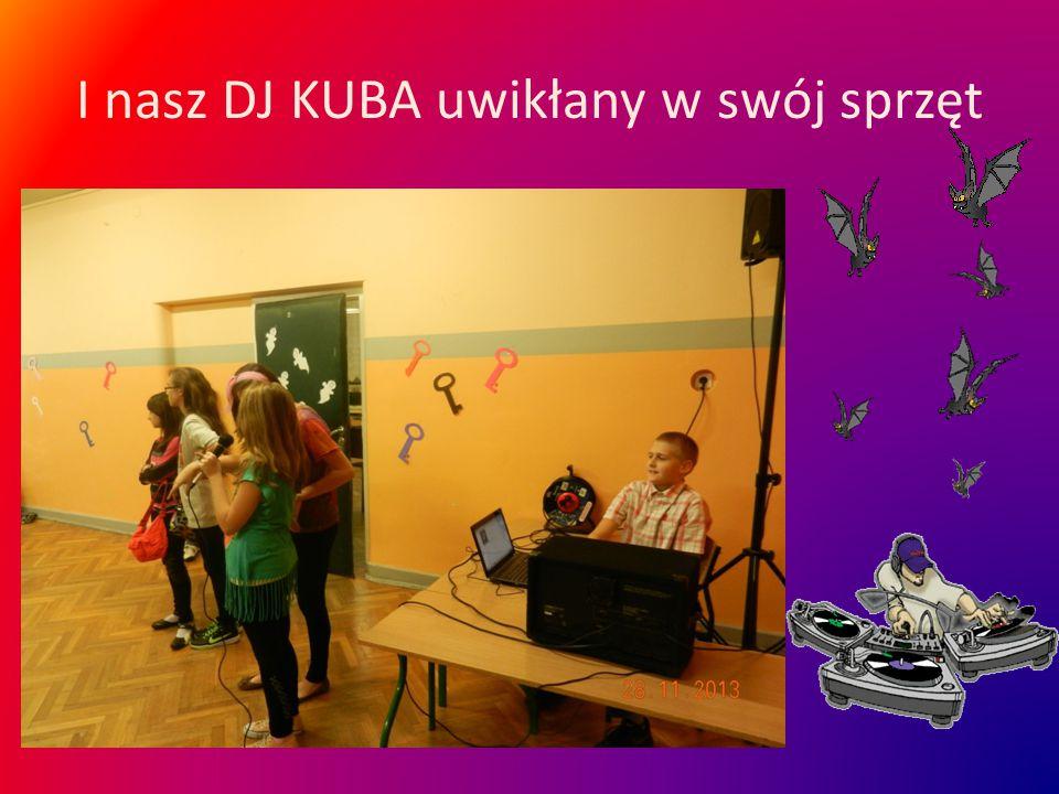I nasz DJ KUBA uwikłany w swój sprzęt