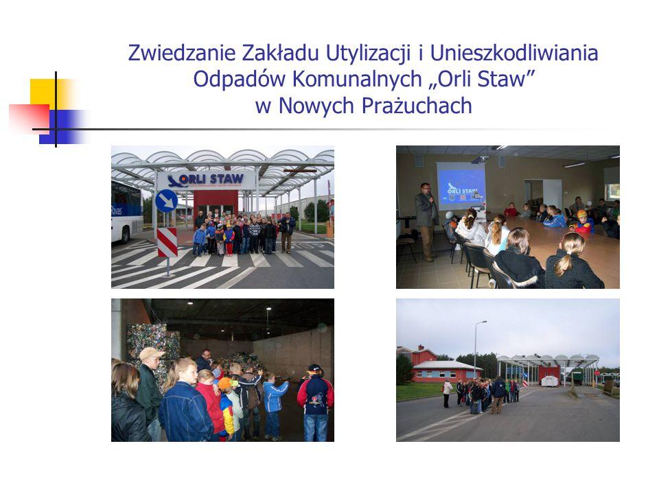 """Zwiedzanie Zakładu Utylizacji i Unieszkodliwiania Odpadów Komunalnych """"Orli Staw"""" w Nowych Prażuchach"""