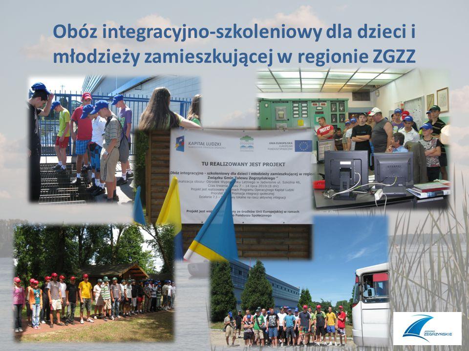 Obóz integracyjno-szkoleniowy dla dzieci i młodzieży zamieszkującej w regionie ZGZZ