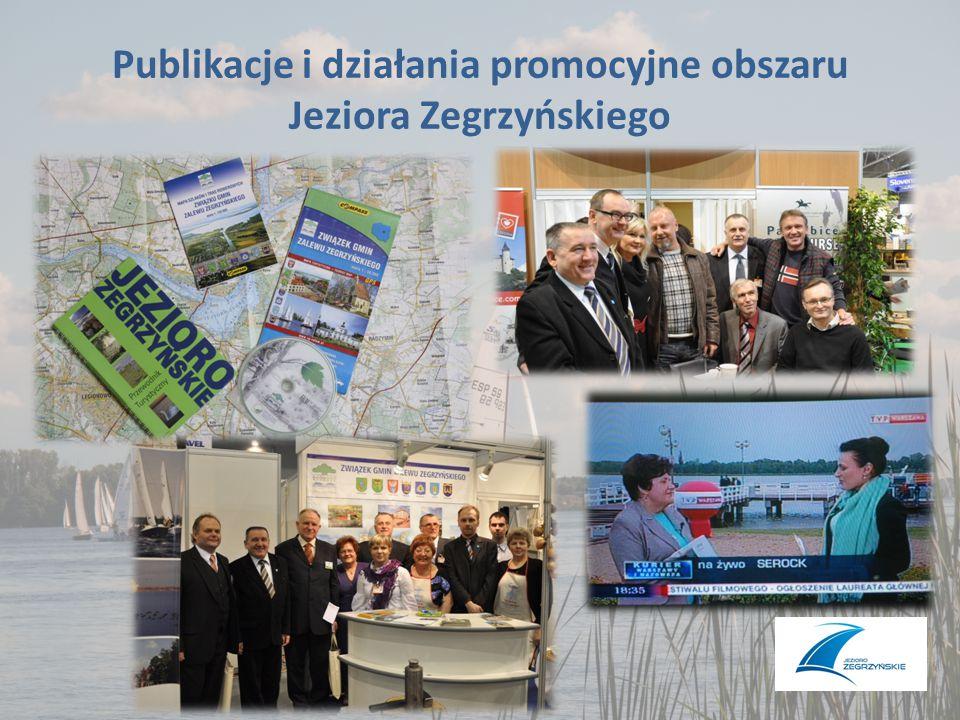 Publikacje i działania promocyjne obszaru Jeziora Zegrzyńskiego