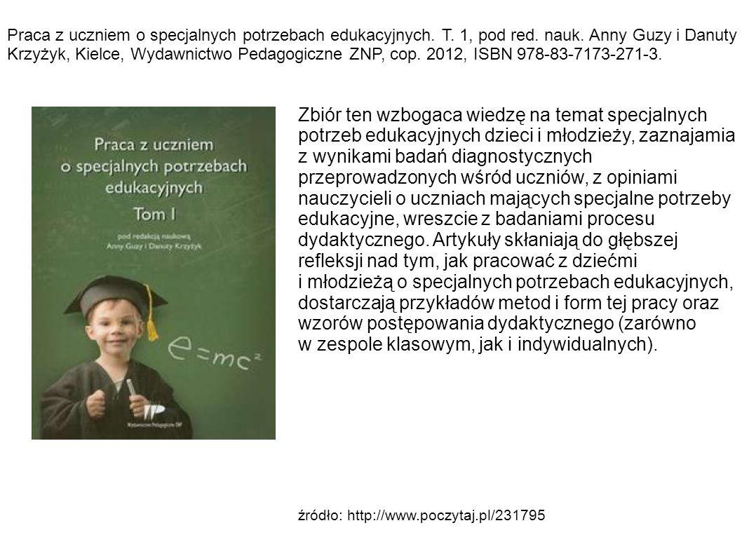 Praca z uczniem o specjalnych potrzebach edukacyjnych.