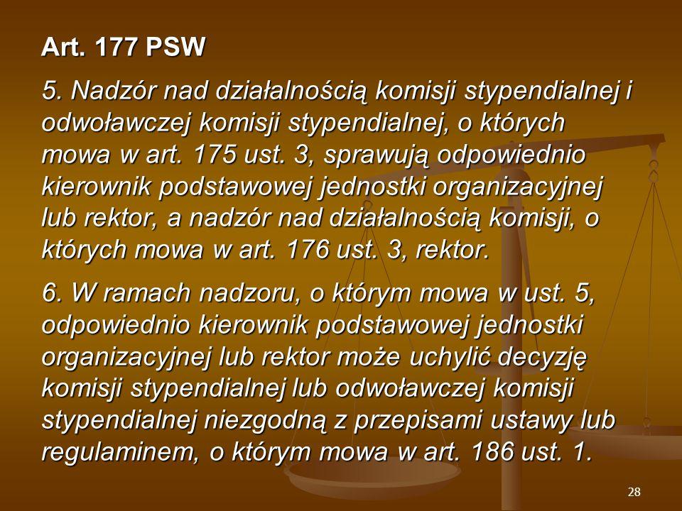 28 Art. 177 PSW 5.