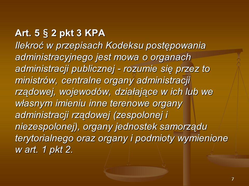 58 Rektyfikacja decyzji Art.111 KPA § 1.