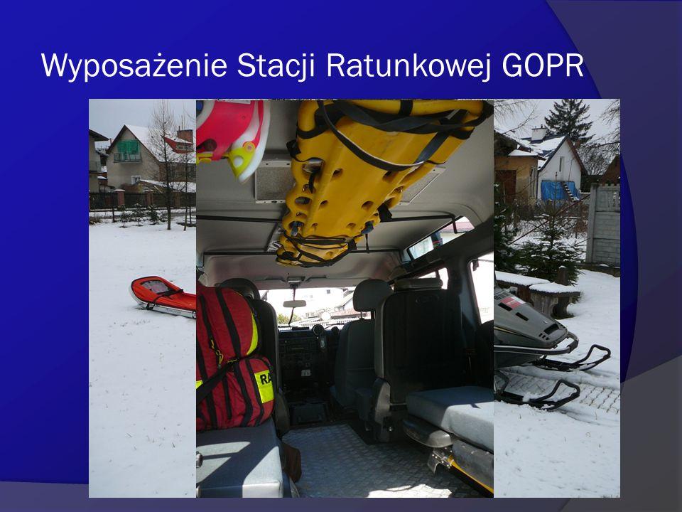Wyposażenie Stacji Ratunkowej GOPR