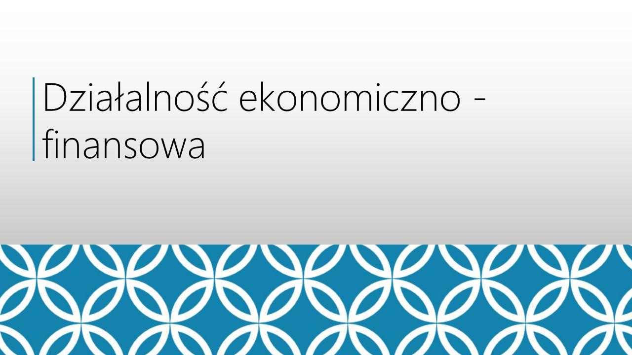 Działalność ekonomiczno - finansowa