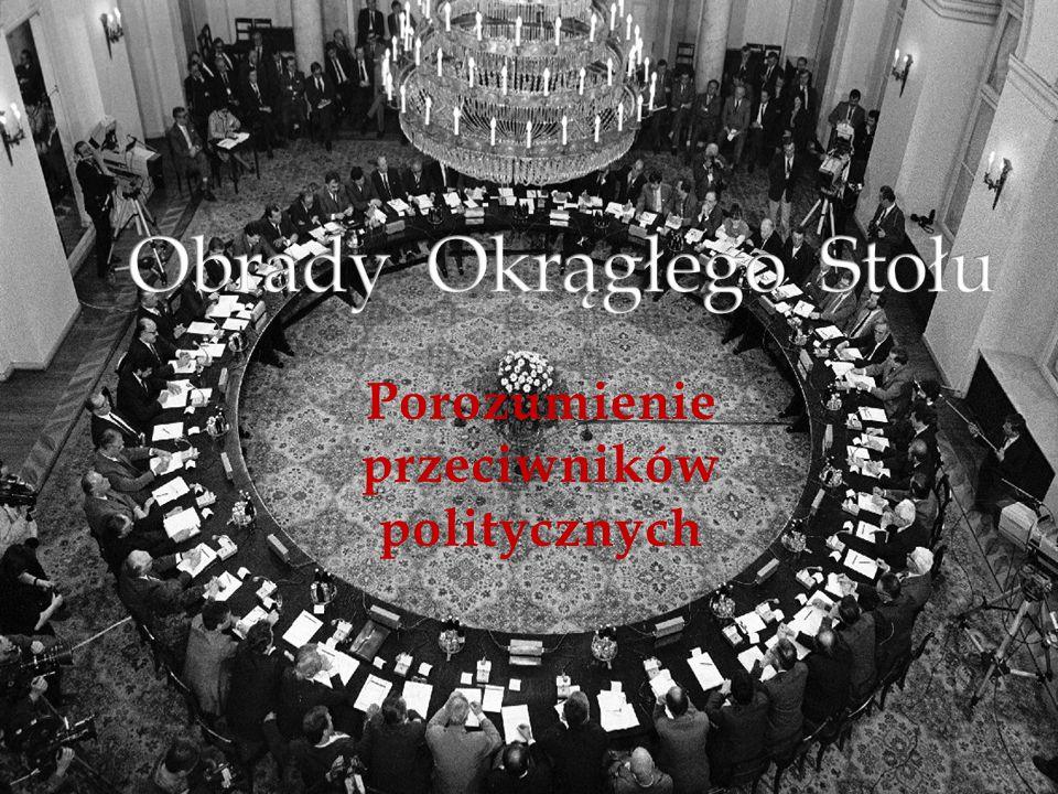 Główną przyczyną rozpoczęcia Obrad Okrągłego Stołu były masowe strajki, protesty i demonstracje Polaków rządnych reform gospodarczych, politycznych i