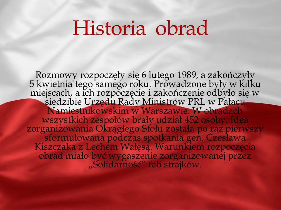 Były to rozmowy prowadzone w pierwszej połowie 1989 roku przez przedstawicieli władz PRL, opozycji solidarnościowej i Kościoła, w wyniku których rozpo