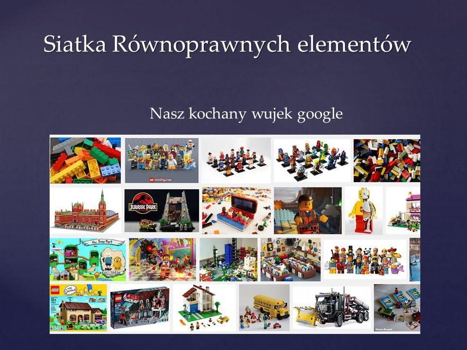 Siatka Równoprawnych elementów Nasz kochany wujek google