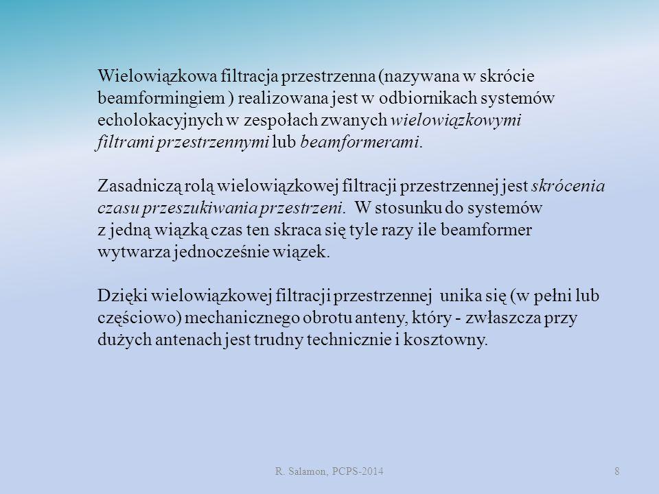 ZASADA PRACY BEAMFORMERÓW OPÓŹNIENIENIOWO-SUMACYCJNYCH R.