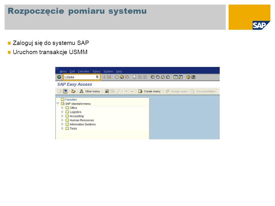 Ustawienia Dane systemowe Sprawdź dane systemowe Jeśli w systemie jeden mandant jest określony jako produktywny, automatycznie system zostaje określony jako produktywny