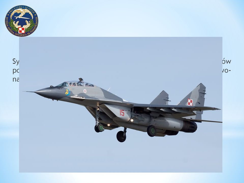 System nawigacyjny samolotu MiG-29, jak i innych statków powietrznych, to kompleks połączonych urządzeń pilotażowo- nawigacyjnych składający się z nas