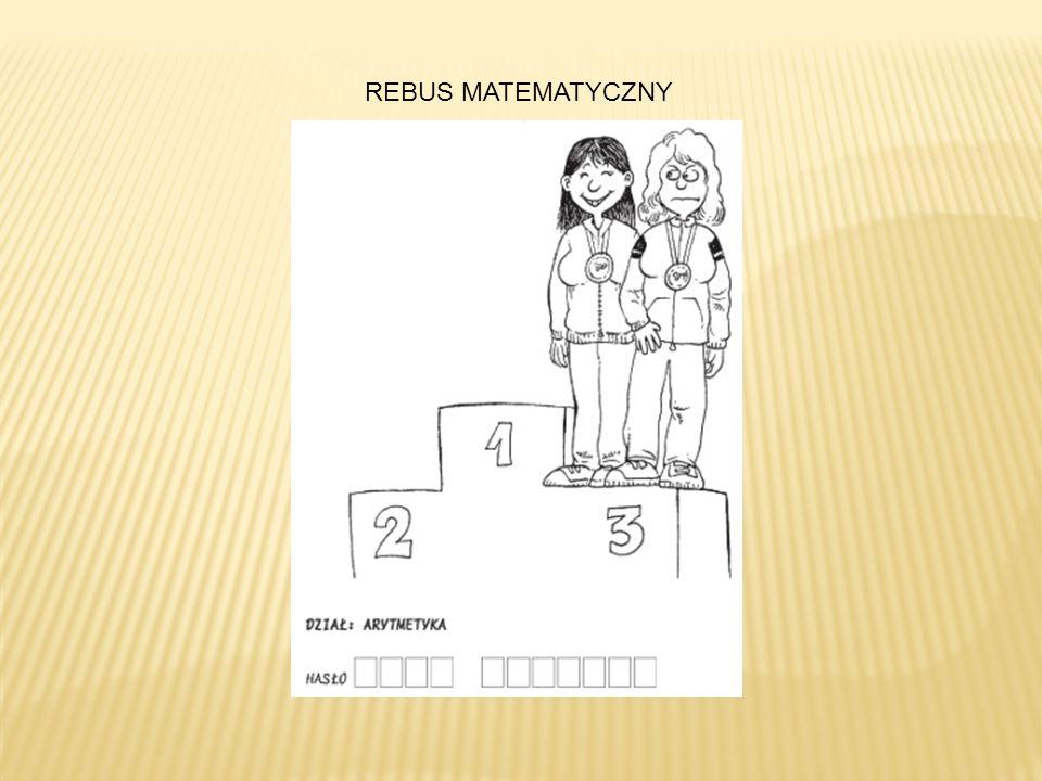 REBUS MATEMATYCZNY