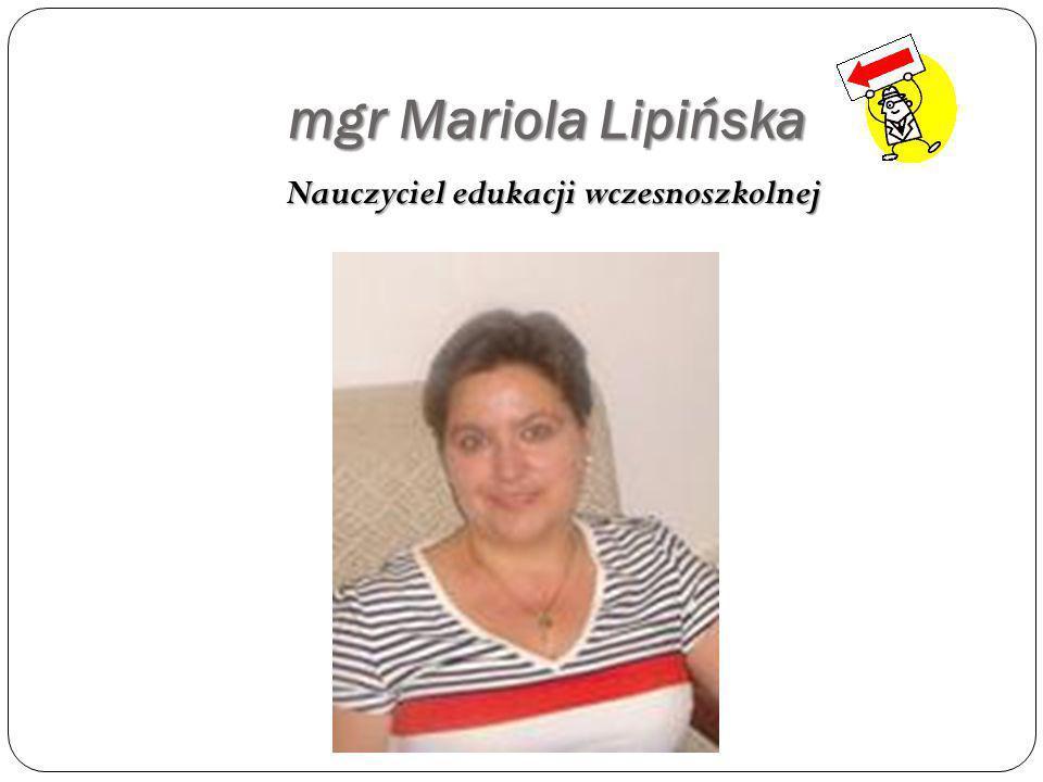 mgr Maria Stono Nauczyciel j ę zyka polskiego i historii, opiekun biblioteki