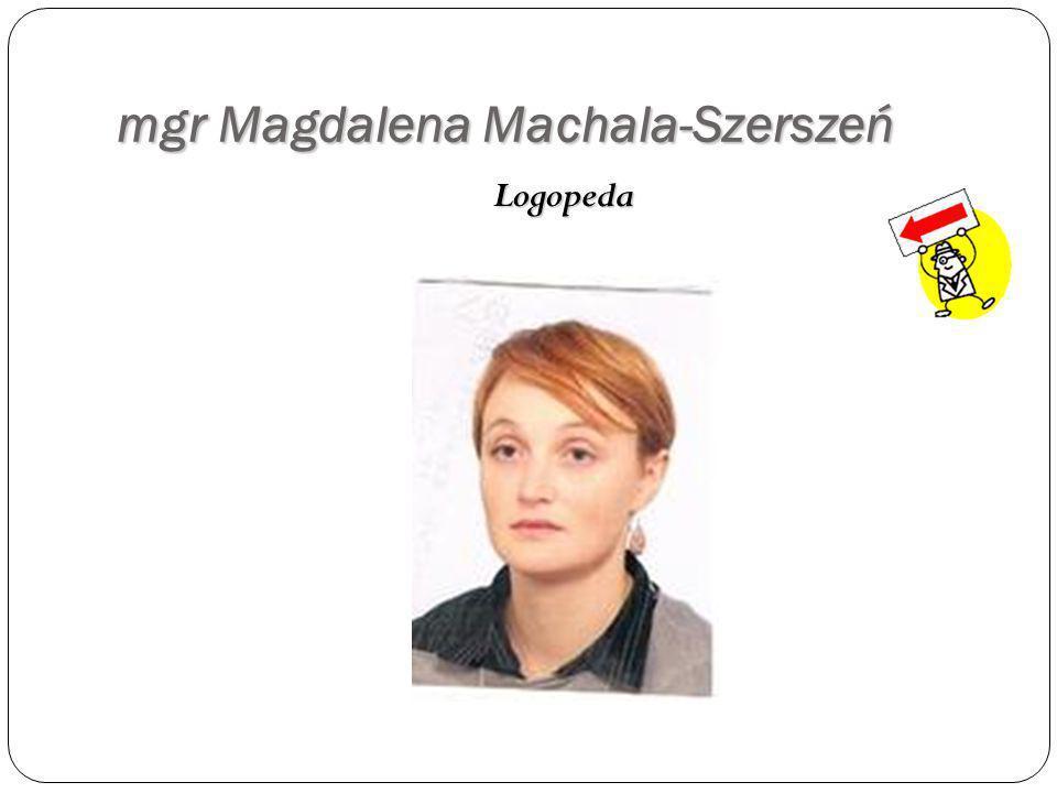 p. Barbara Wydro Opiekun ś wietlicy