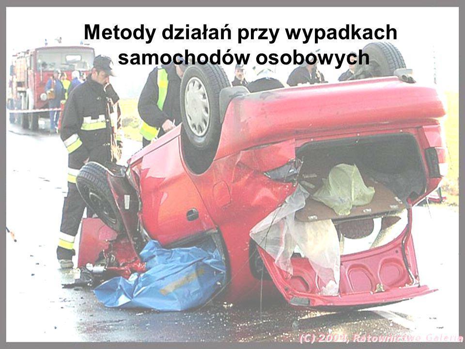 Metody działań przy wypadkach samochodów osobowych