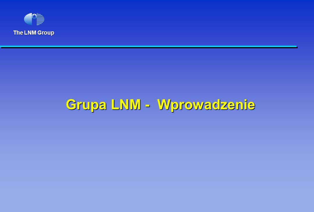 The LNM Group Grupa LNM - Wprowadzenie