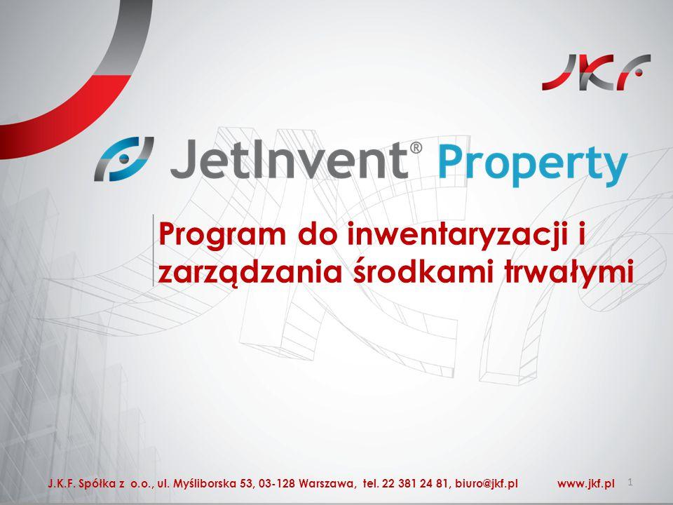 Program do inwentaryzacji i zarządzania środkami trwałymi 1 J.K.F.