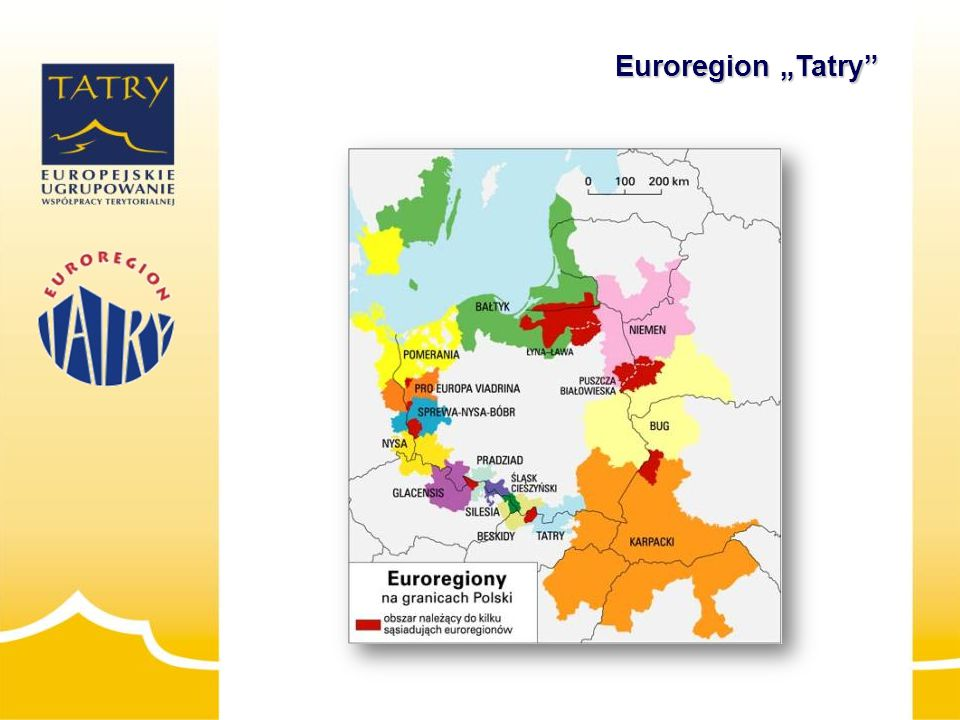 """Euroregion """"Tatry powstał 26.08.1994 r."""