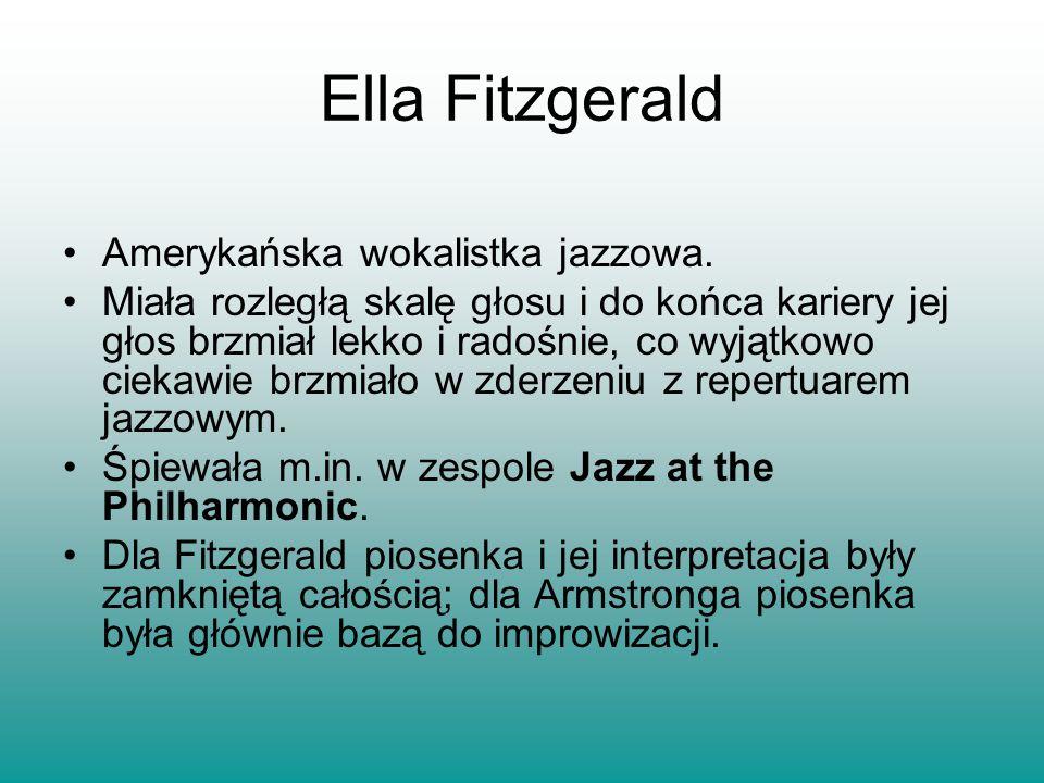 Amerykańska wokalistka jazzowa. Miała rozległą skalę głosu i do końca kariery jej głos brzmiał lekko i radośnie, co wyjątkowo ciekawie brzmiało w zder