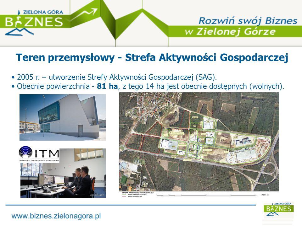 Firmy prowadzące działalność na obszarze SAG Makro Bernadr Trucks San-Bud CeMBe Unipak Polska Lumel LUG Tech-Bud Stelmet ITM Poland Brodr.