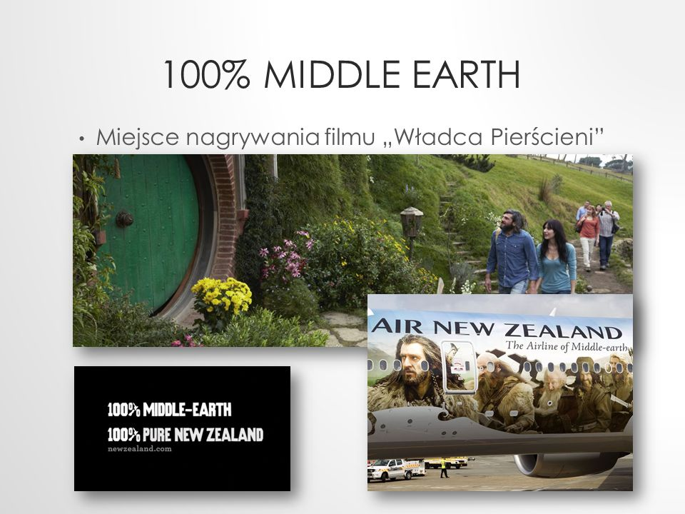 """100% MIDDLE EARTH Miejsce nagrywania filmu """"Władca Pierścieni"""""""