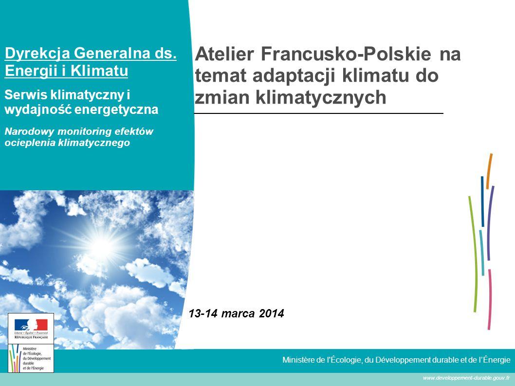 2 Plan 1.PNACC, bilans średniookresowy 2. Wskaźniku wpływu emisji CC 3.