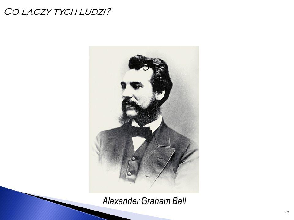 10 Alexander Graham Bell Co laczy tych ludzi?