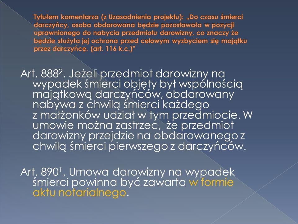 Art. 888 2.