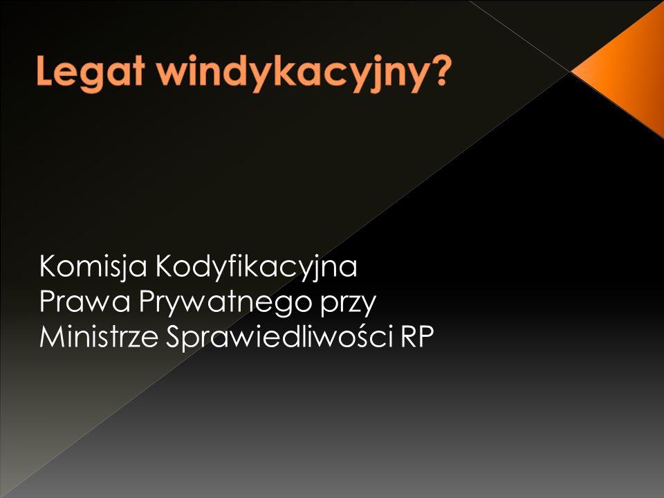 Komisja Kodyfikacyjna Prawa Prywatnego przy Ministrze Sprawiedliwości RP