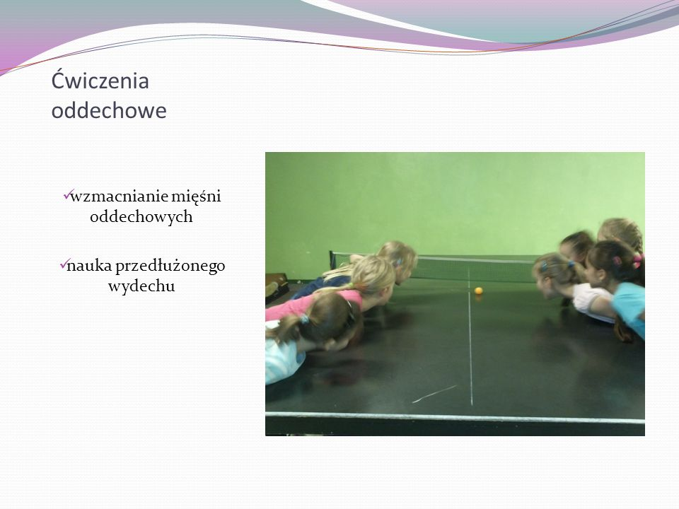 Ćwiczenia oddechowe wzmacnianie mięśni oddechowych nauka przedłużonego wydechu