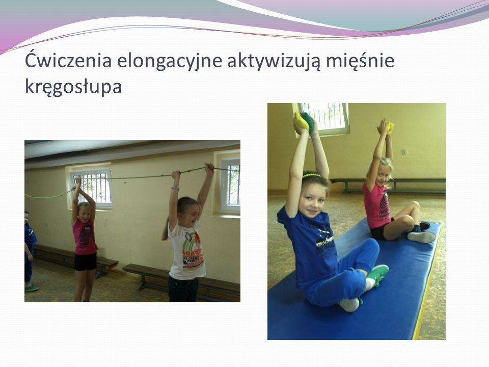 Ćwiczenia elongacyjne aktywizują mięśnie kręgosłupa