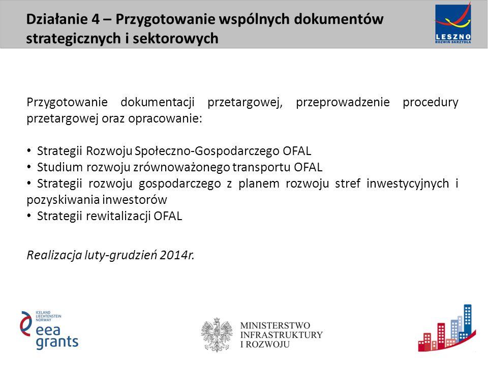 Przygotowanie dokumentacji przetargowej, przeprowadzenie procedury przetargowej oraz opracowanie: Strategii Rozwoju Społeczno-Gospodarczego OFAL Studi