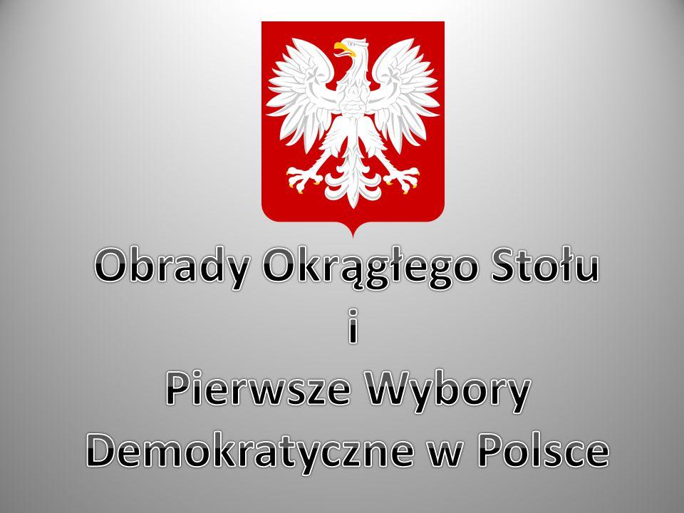 Okrągły Stół – negocjacje prowadzone od 6 lutego do 5 kwietnia 1989 przez przedstawicieli władz PRL, opozycji solidarnościowej oraz kościelnej (status obserwatora - Kościół Ewangelicko - Augsburski oraz Kościół rzymskokatolicki).